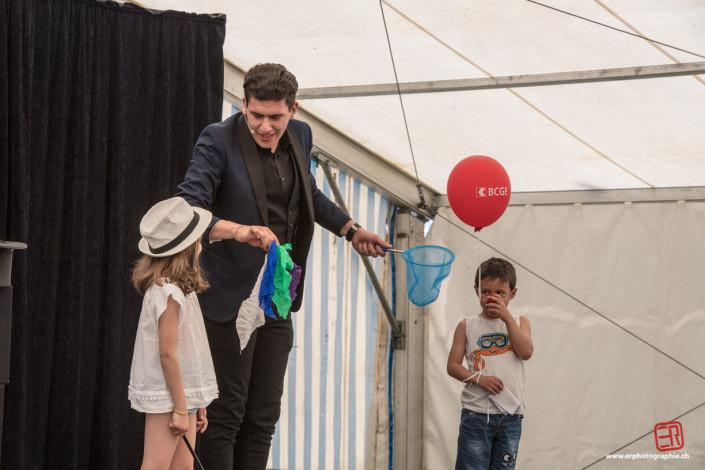 Magicien Suisse Enfants